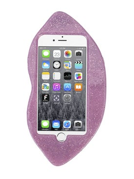 Stella Mccartney - Glitter Lips Iphone 6 Case - Women