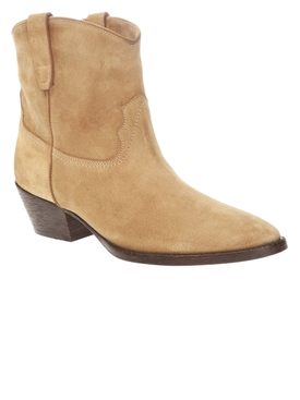 Tan West 45 Bootie