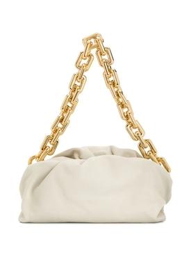 Chain Strap Pouch PLASTER WHITE