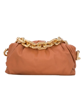 Chain Strap Pouch CLAY-GOLD