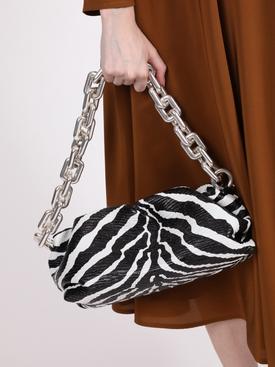 Zebra Print Pouch Handbag