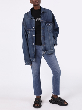 LARGE FIT DADDY WASH DENIM JACKET