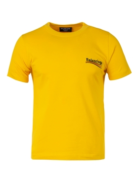 SMALL FIT T-SHIRT YELLOW