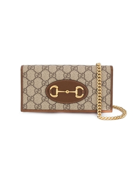 Gucci - Horsebit Wallet On Chain, Classic Monogram - Women