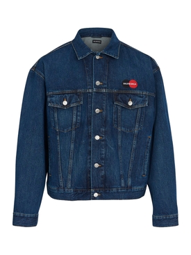 LOGO UNIFORM DENIM JACKET