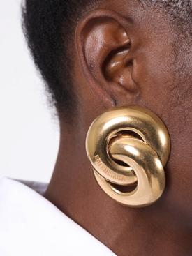 Gold Twin Earrings
