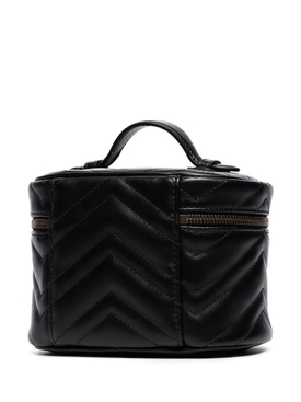 Black Quilted Beauty Case