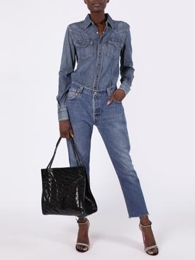 Blue Classic western shirt