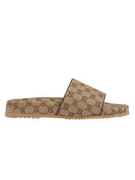 Sideline Slides LIGHT BROWN