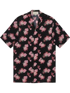 Peony Fantasy Jacquard Shirt