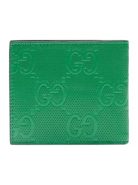 Green GG Tennis Wallet