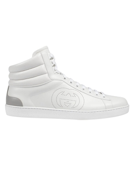 New Ace High Top Sneakers WHITE