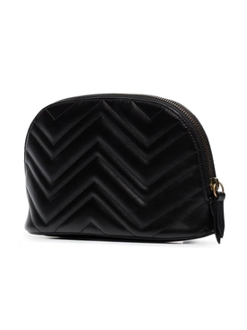GG Marmont Cosmetic Case, Black