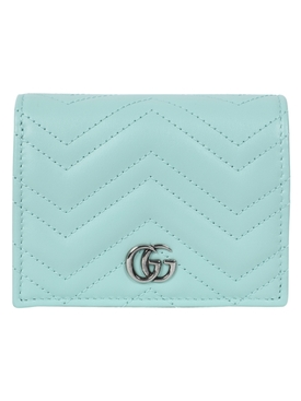 Water green GG Marmont card holder