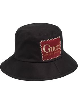 Drill Bucket Hat BLACK