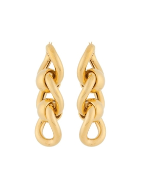 Gold-tone multi-hoop earrings