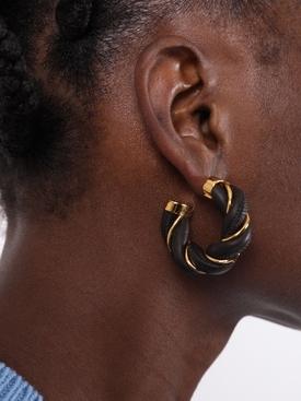 Twist hoop earrings FONDENTE