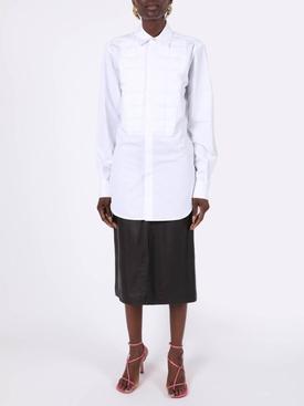 Padded Quilt Button Down Shirt