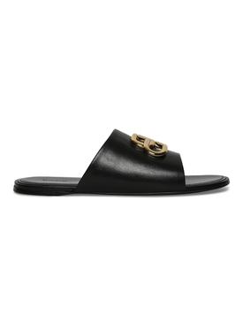BB logo slide sandal