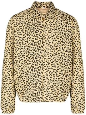 Leopard Print Coach Jacket
