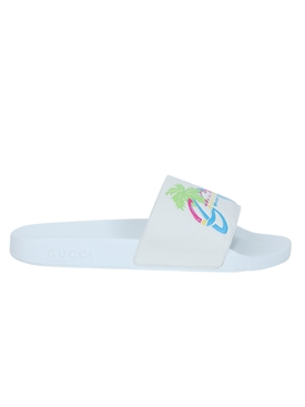 Hawaii Multicolor Slides GREAT WHITE