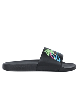 Hawaii Multicolor Slides BLACK