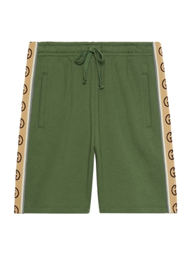 GG Panel Shorts ASPARAGUS GREEN