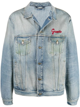 'Mon Petit Chat' denim jacket