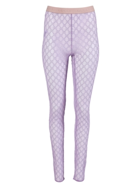 GG monogram leggings LILAC