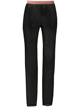 GG monogram leggings BLACK