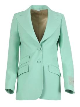 Pastel mint blazer jacket