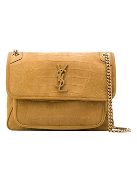 Niki Medium Bag, Ochre Brown