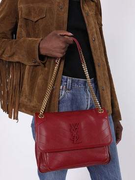 OPYUM RED NIKI SHOULDER BAG