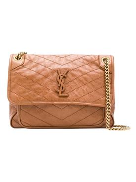 Niki Medium Bag, Light Burnt Brown