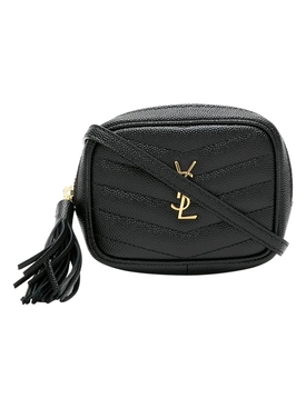 YSL Mini Monogram Micro Pouch OPYUM RED