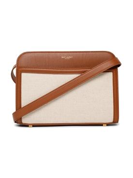 YSL Linen Camera Bag