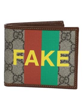 'Not Fake' billfold wallet