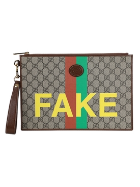 'Not Fake' GG supreme organizer pouch
