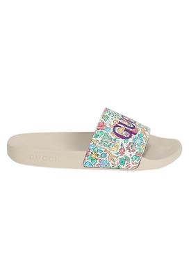 Floral Pursuit Sandal