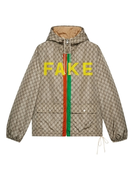 Fake/Not logo jacket