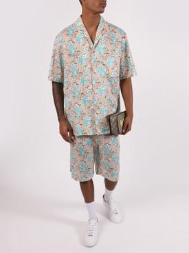Floral-print Shorts