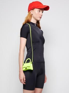 Mini Hourglass Strap Bag Fluorescent Yellow