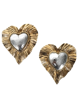 HÉRITAGE RADIATING HEART EARRINGS