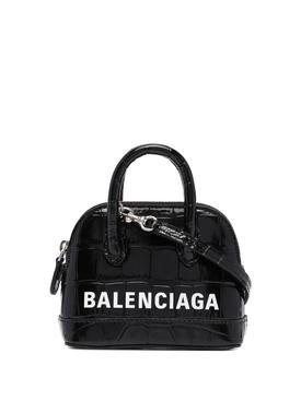 Nano Ville top handle bag black