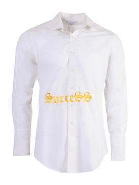 WHITE SUCCESS SHIRT