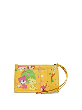 Puppies and Friends Pouch Yellow