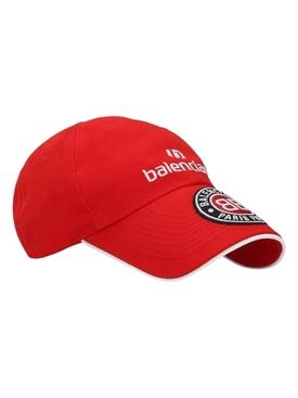 Red Soccer Cap