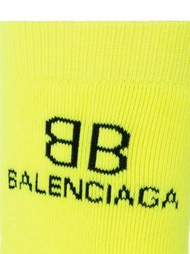 BB logo socks Yellow/black