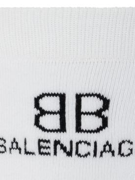 Classic BB Logo Socks White