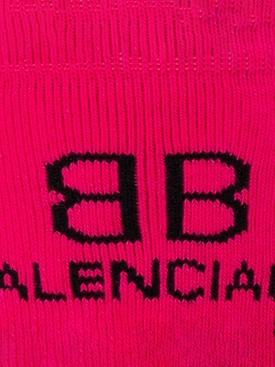 Classic BB Logo Socks Pink
